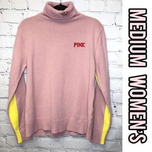 Pink Panther long sleeve turtleneck sweater top